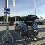 Gratis lading (Schuko) ved COOP i Visby